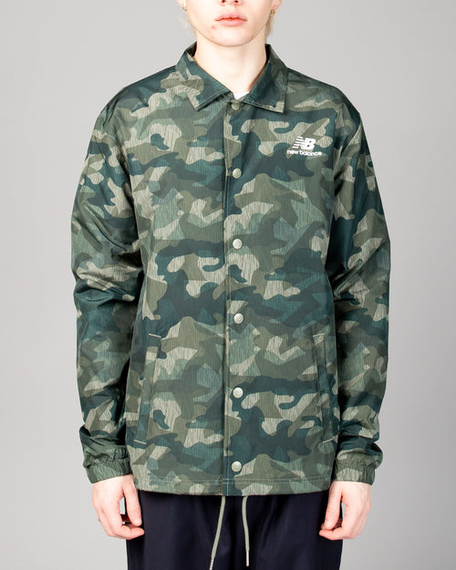 Stacked Coaches Jacket Mineral Green 1