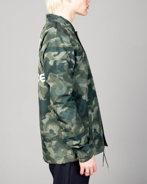 Stacked Coaches Jacket Mineral Green 2
