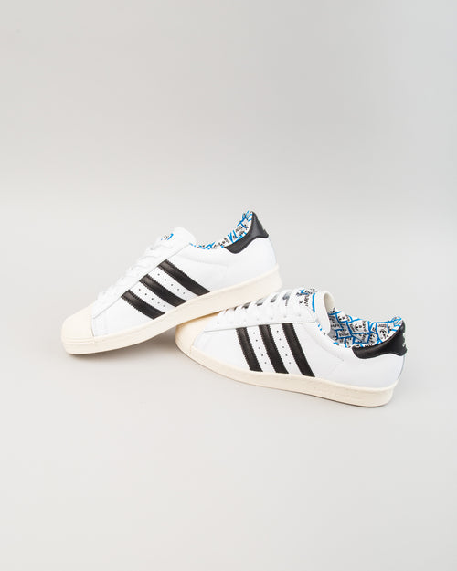 HAGT Superstar 80s White/Black/White 2