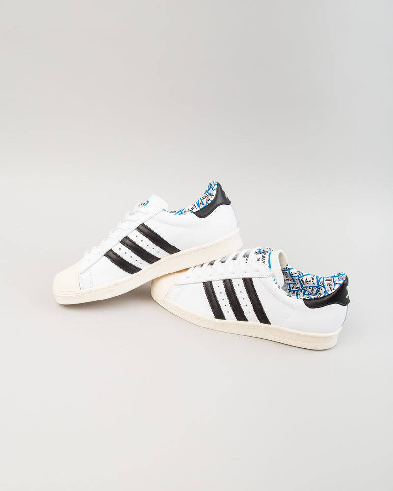 HAGT Superstar 80s White/Black/White