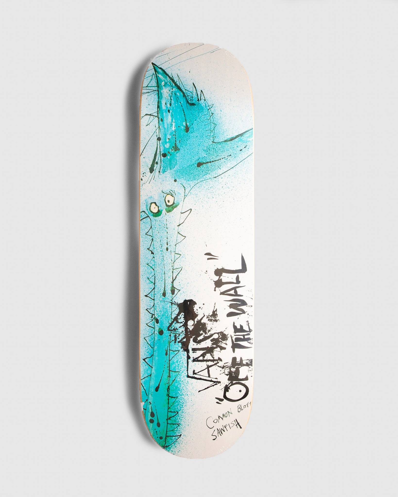 Ralph Steadman Skate Deck Sawfish