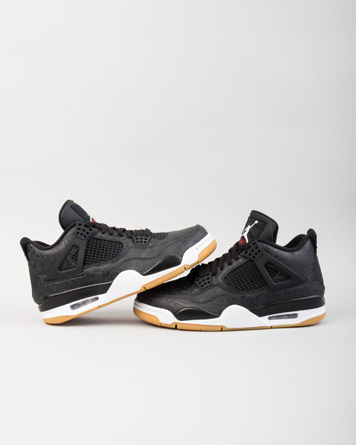 Air Jordan 4 Retro SE Black/White/Gum 2