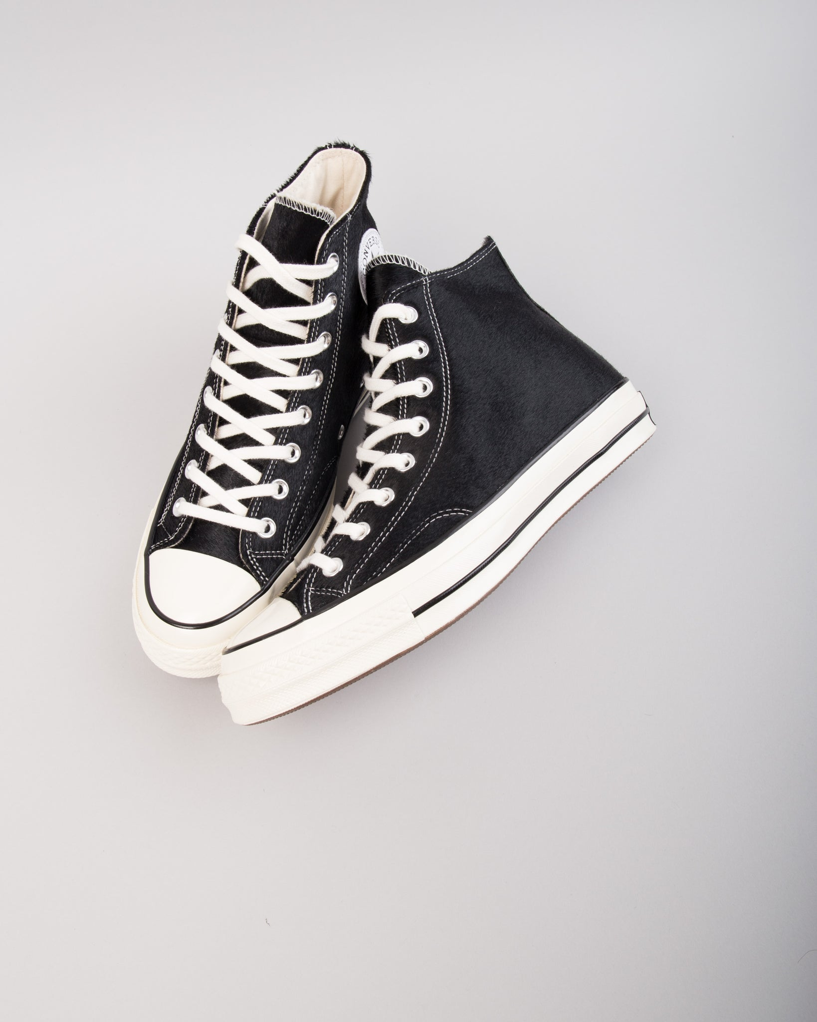 Chuck 70 HI Pony Black/Egret/Natural