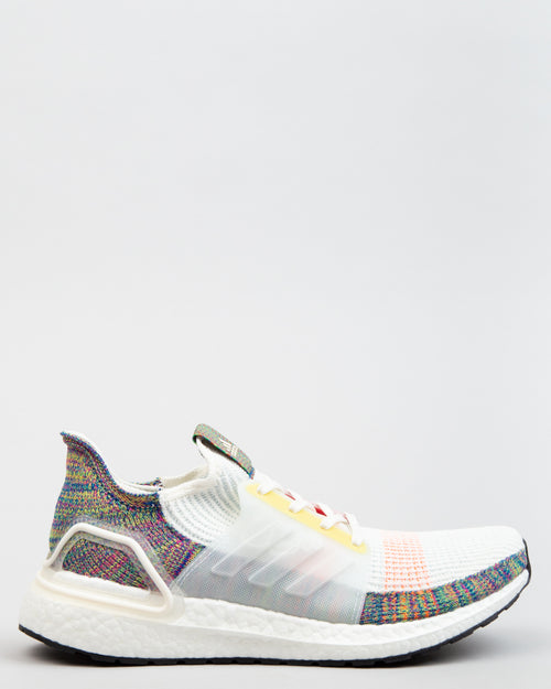 UltraBOOST 19 Pride White/Scarlet/Bright Yellow 1