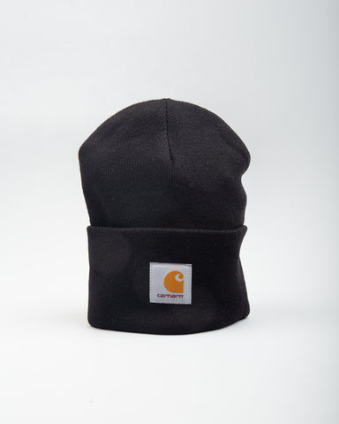 Acrylic Watch Hat Black