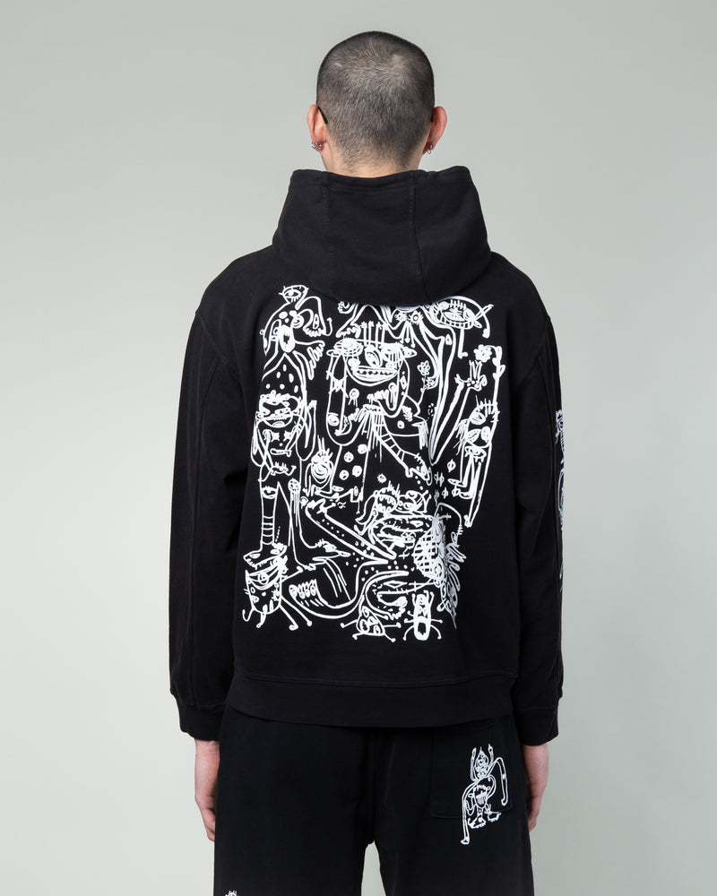 P&TY Hooded Sweatshirt Black