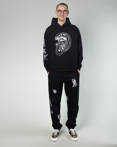 P&TY Sweatpant Black 2