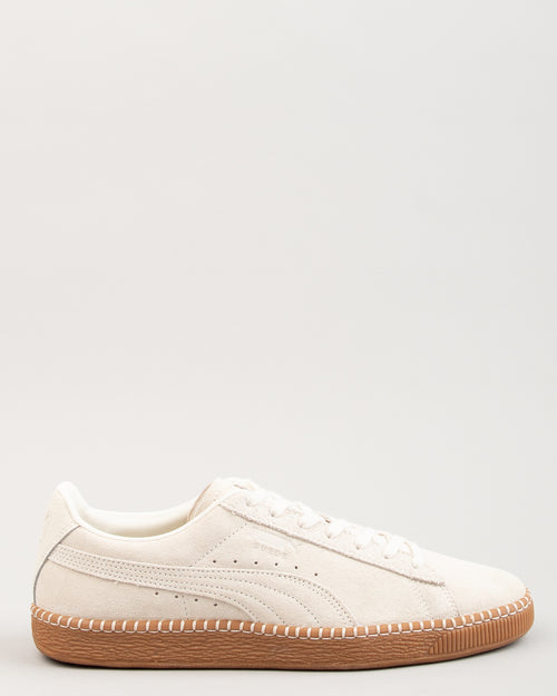 Suede Classic Blanket Stitch Whisper White/Gum 1