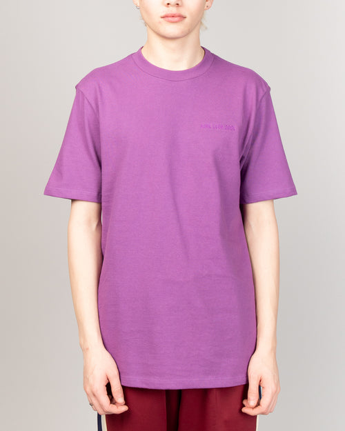 SS Logo Tee Purple Tape 1