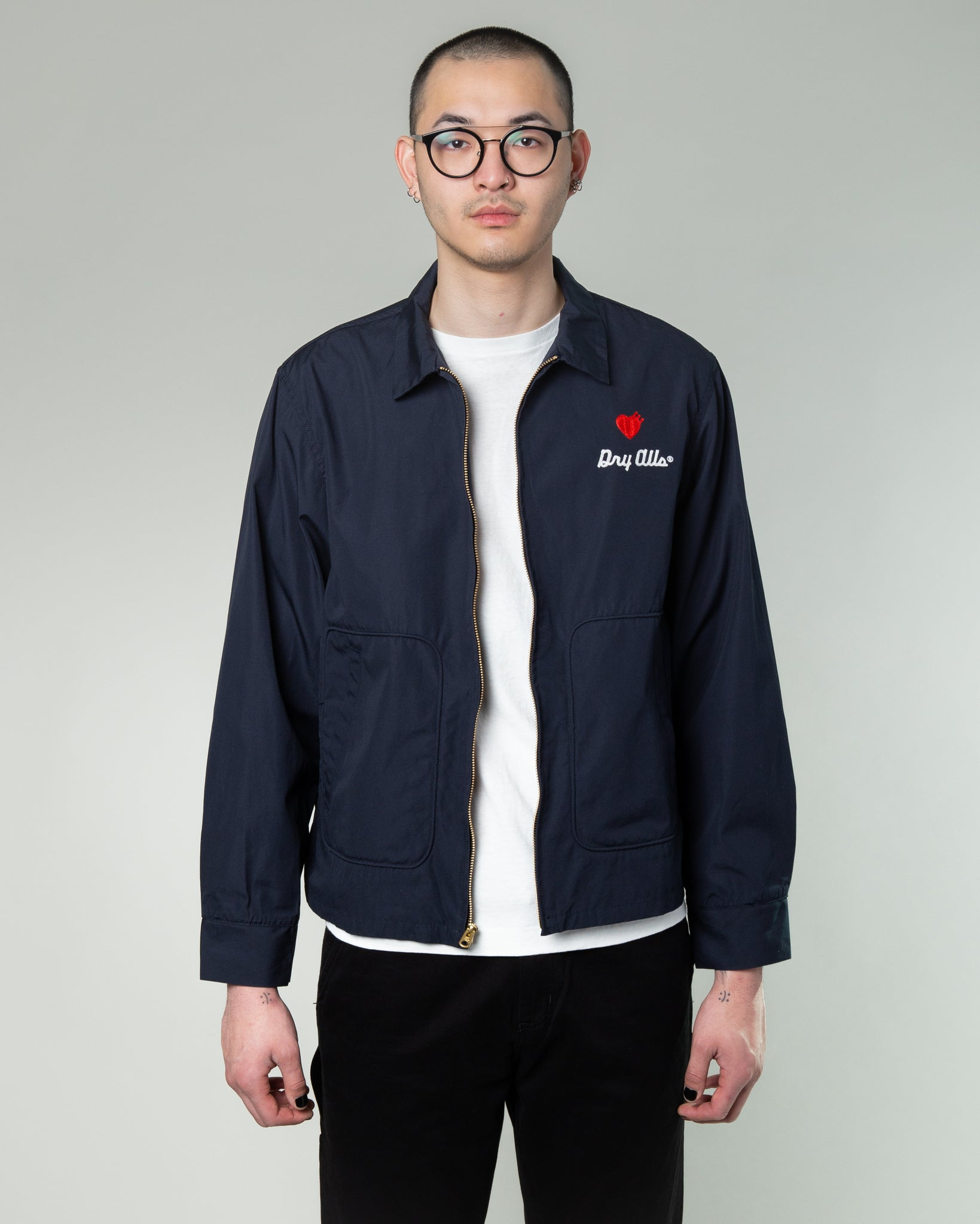 Drizzler Jacket Navy