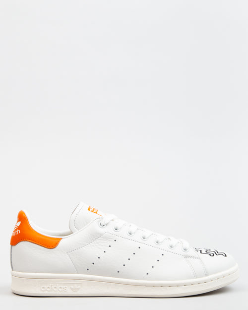Keith Haring Stan Smith Crystal White/Orange/Chalk White 1
