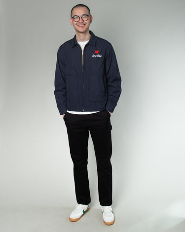 Drizzler Jacket Navy 2