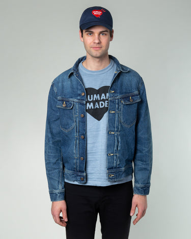 Denim Work Jacket Indigo 1