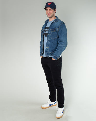 Denim Work Jacket Indigo 2