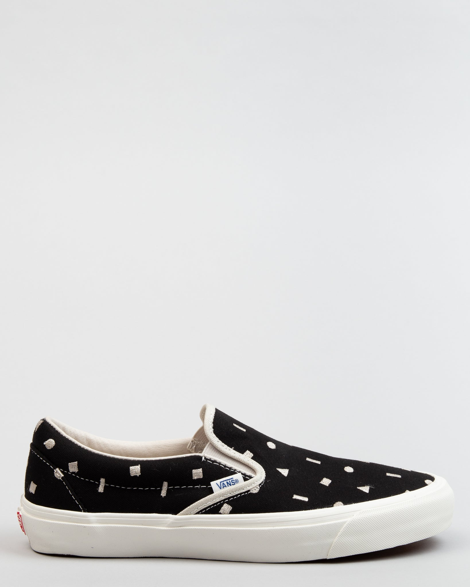 OG Slip-On LX (Canvas/Embroidery) Black