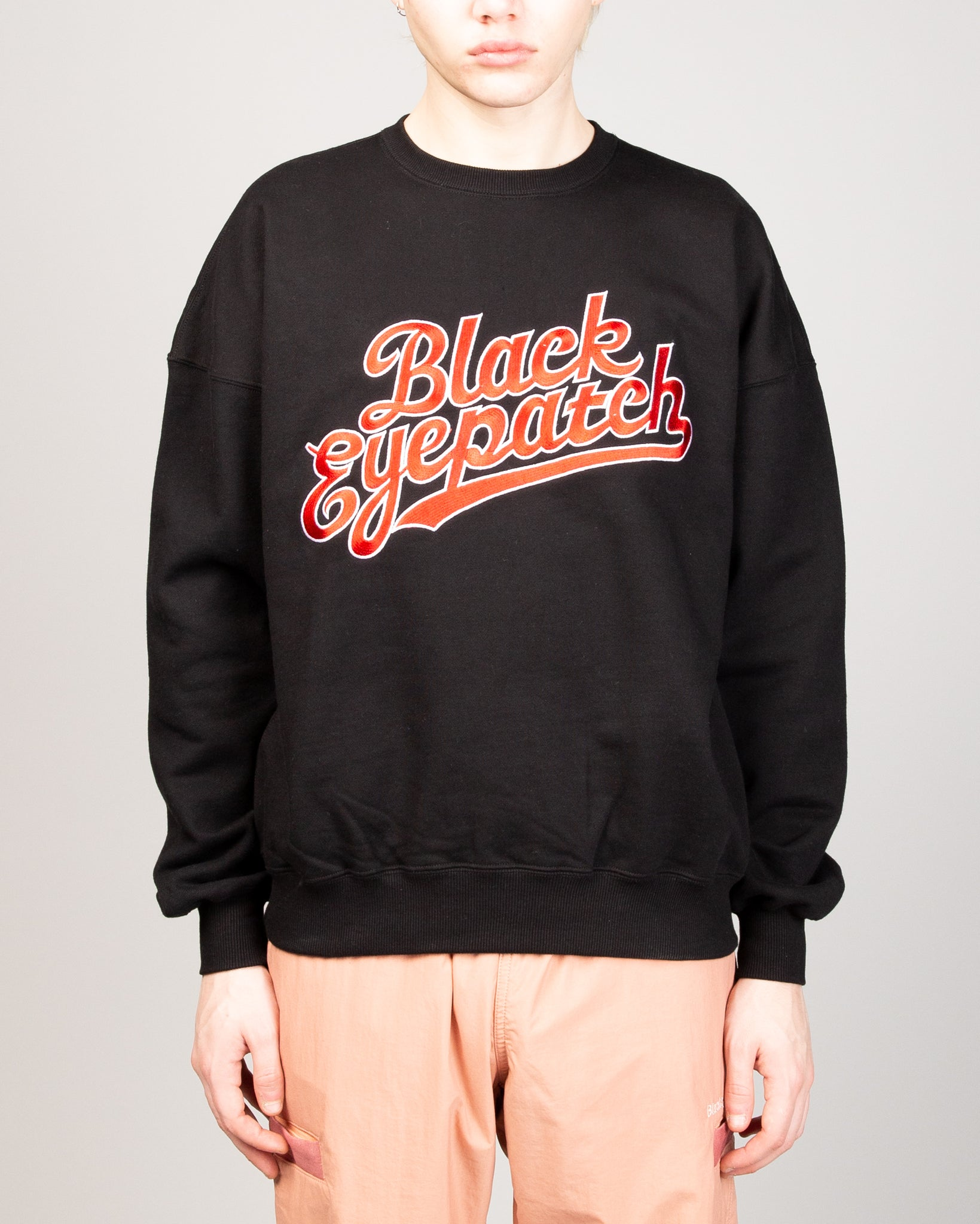 Script Crew Sweat Black