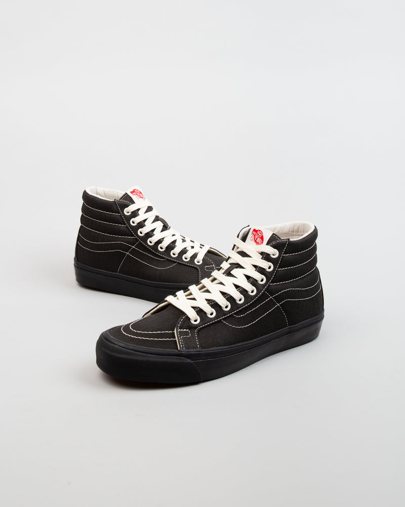 OG SK8-HI LX (Herringbone Canvas) Black