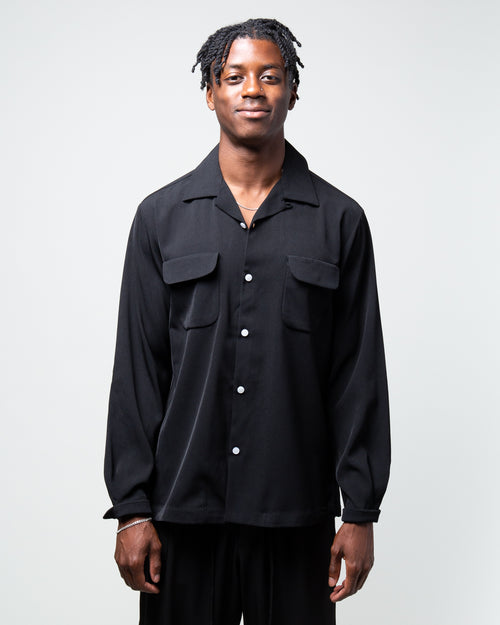 Terry Shirt Black 1