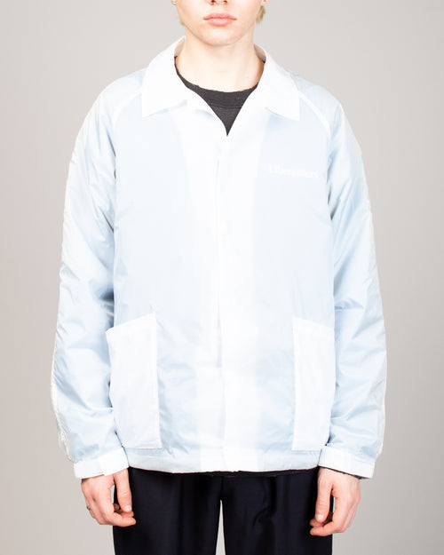 Transparent Coach Jacket Blue 1