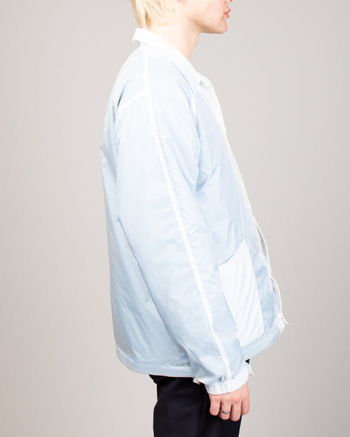 Transparent Coach Jacket Blue 2