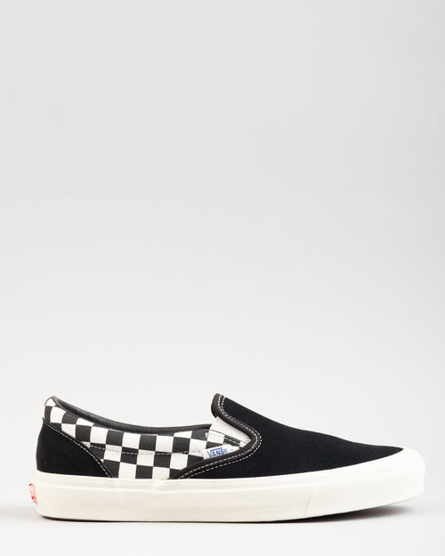 Modernica OG Classic Slip-On LX Black/Checkerboard 1