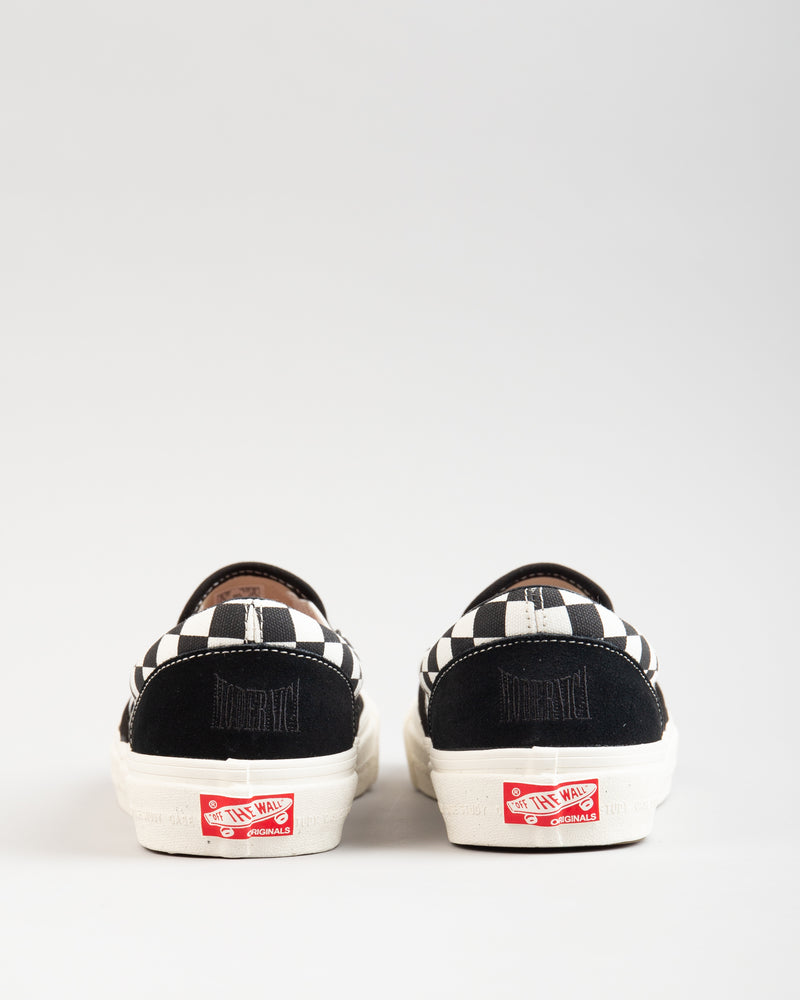 Modernica OG Classic Slip-On LX Black/Checkerboard