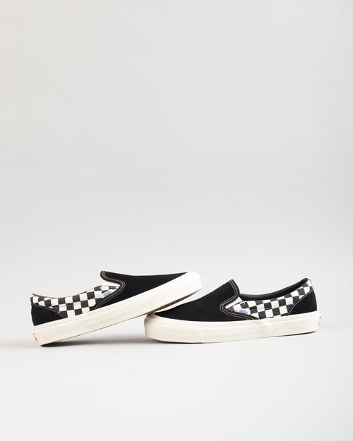Modernica OG Classic Slip-On LX Black/Checkerboard 2