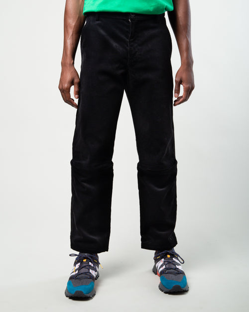 Corduroy Pants Black 1