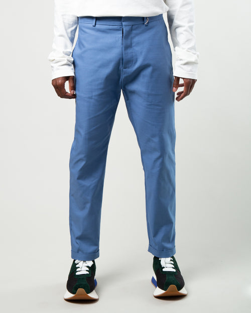 Compact Twill Trouser Blue 1