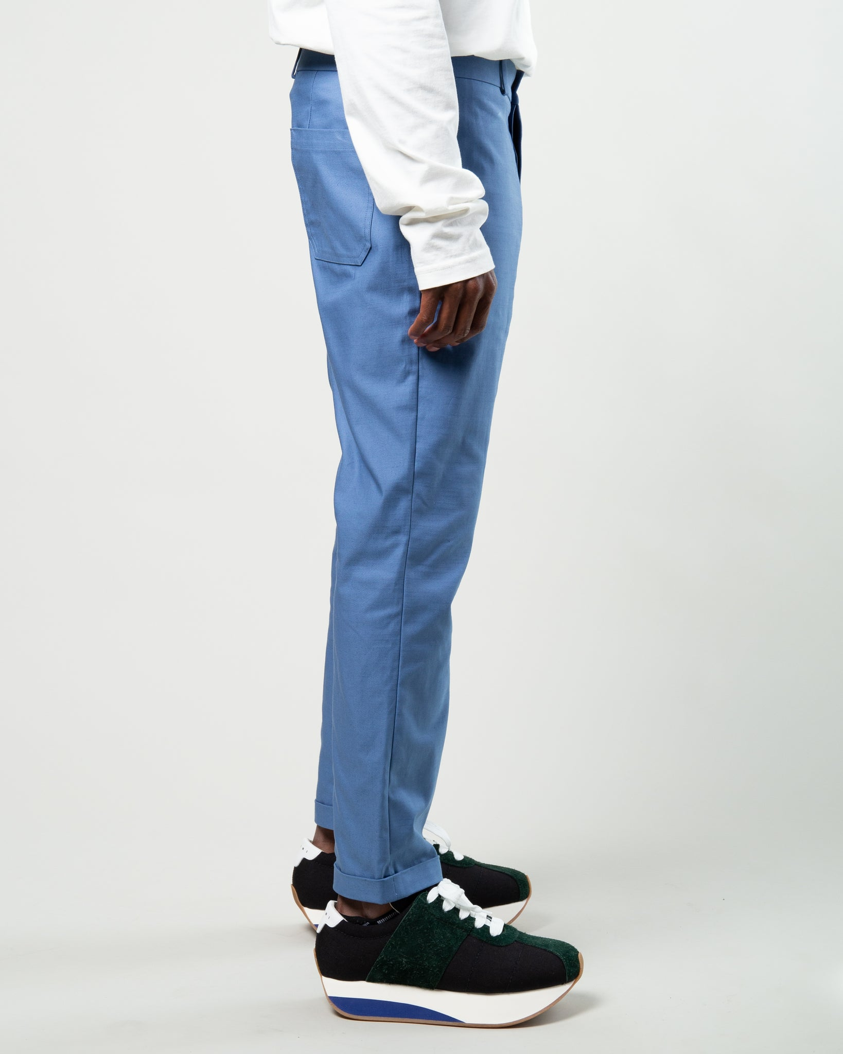 Compact Twill Trouser Blue