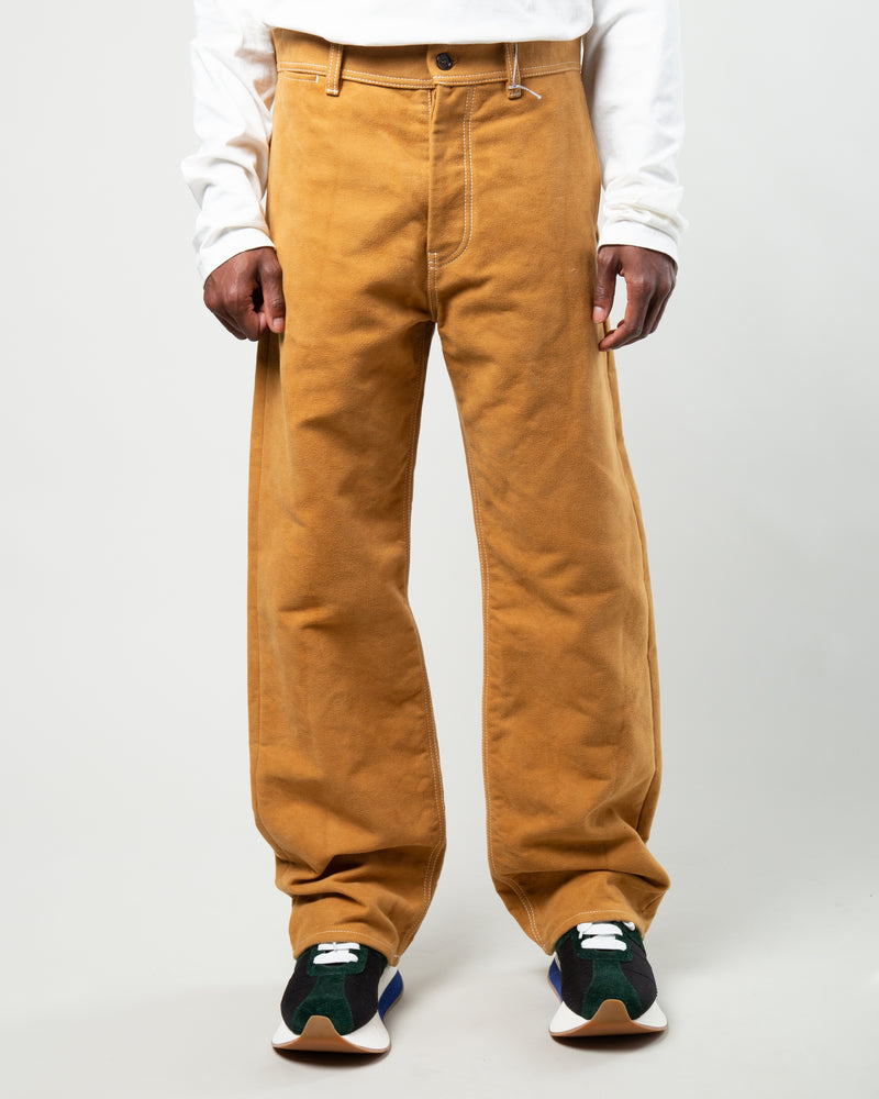 Five Pocket Wide Leg Pants Brown