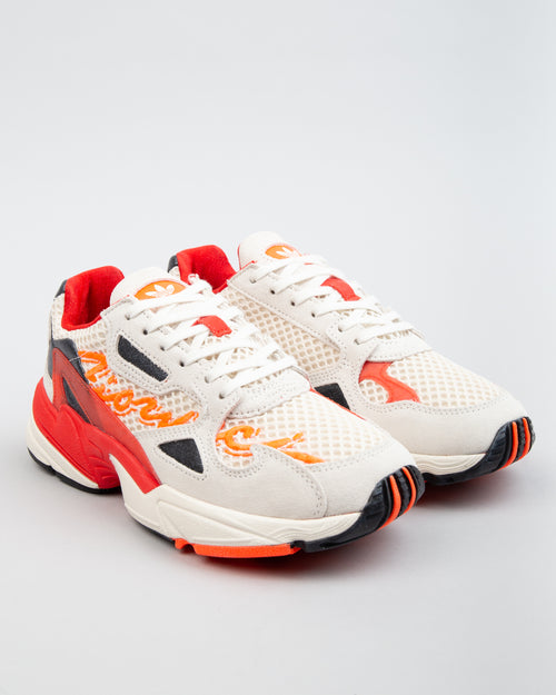 Fiorucci Falcon W Off-White/Red/Solar Orange 2