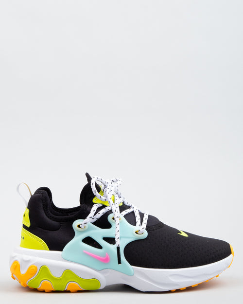 WMNS React Presto Black/Psychic Pink/Teal Tint 1
