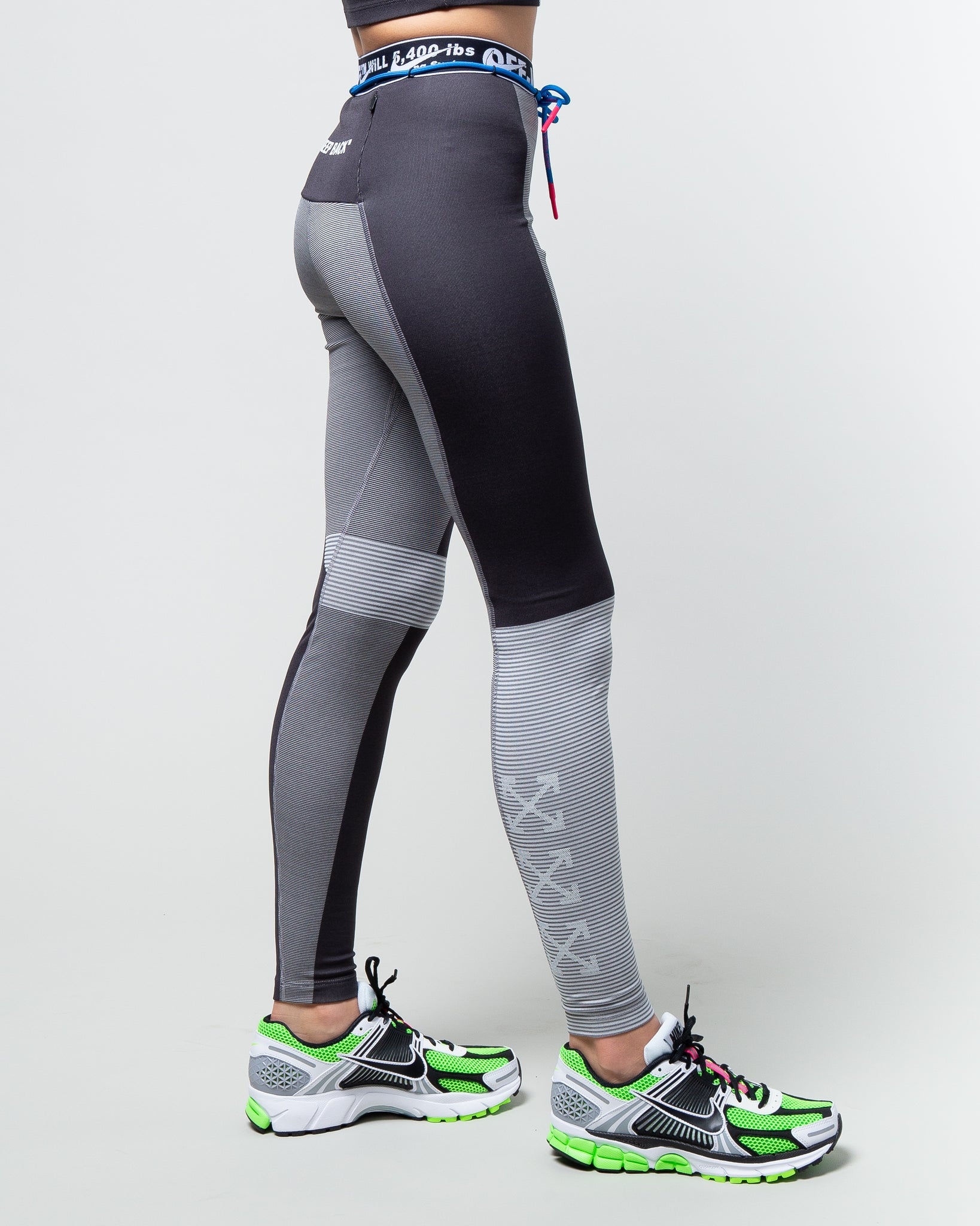 Off-White W NRG Easy Run Tights Oil Grey/Vast Grey