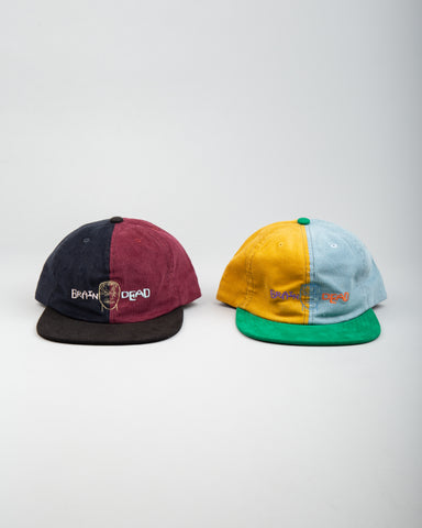 Colorblocked Strap Back Hat