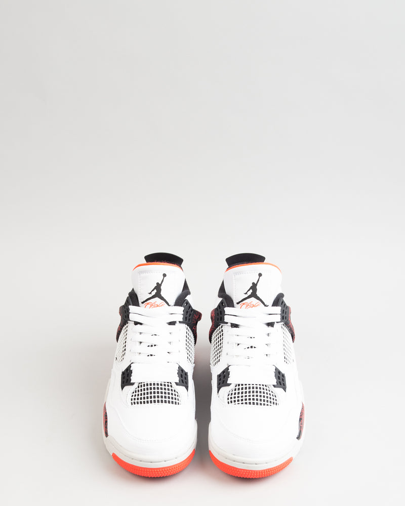 Air Jordan 4 Retro White/Black/Bright Crimson