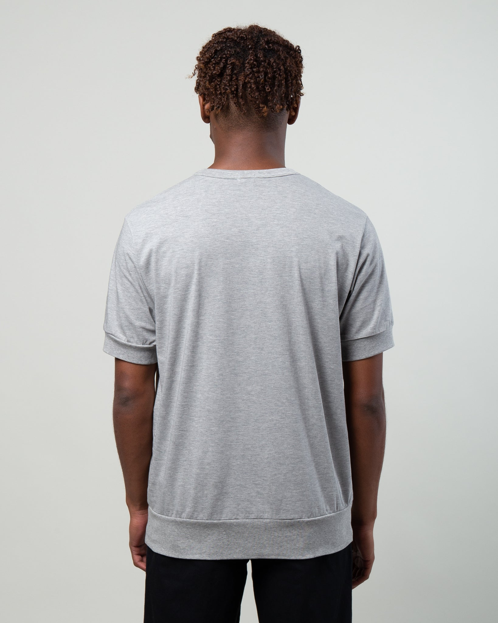 Oversized Slouch T-Shirt Grey