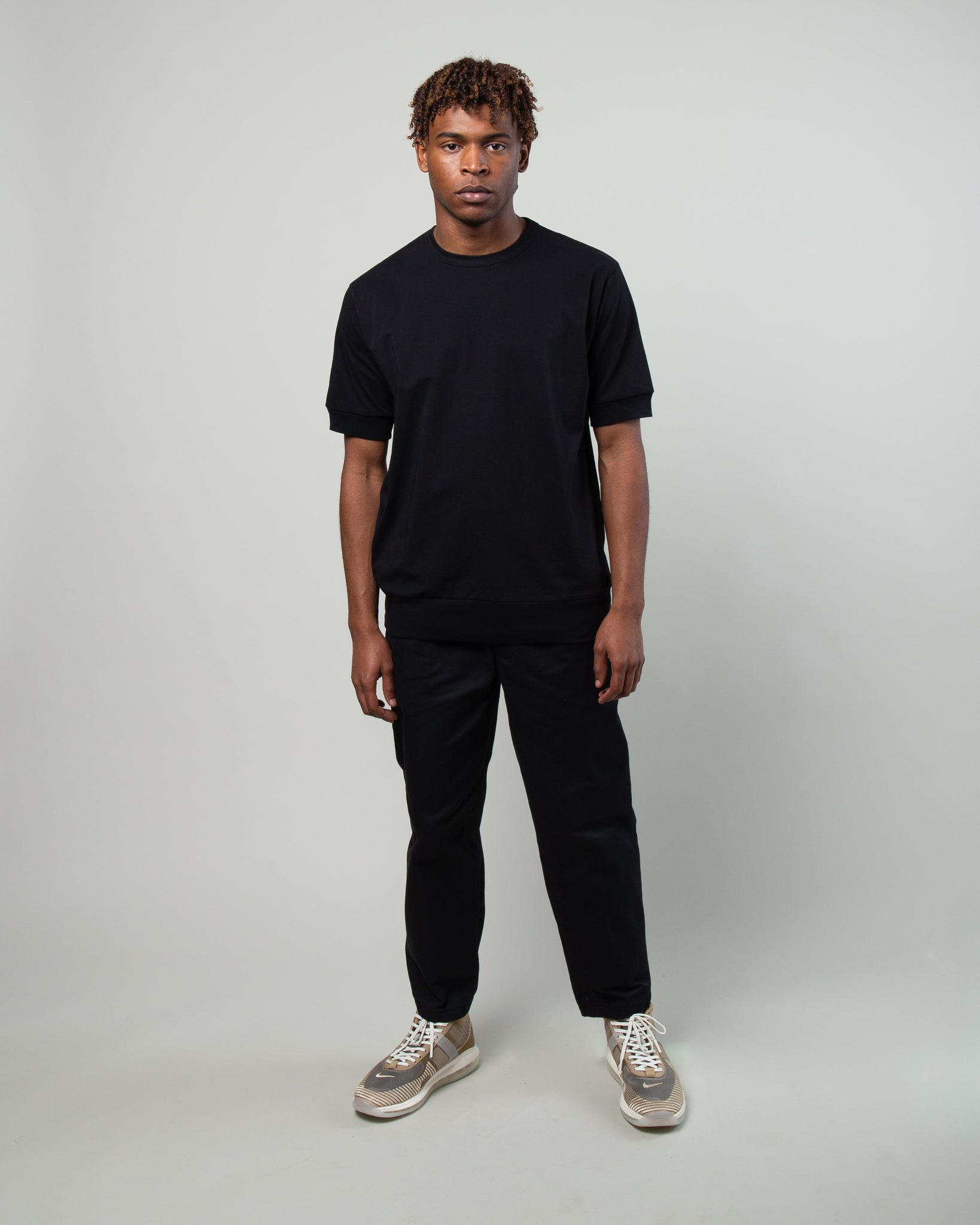 Oversized Slouch T-Shirt Black