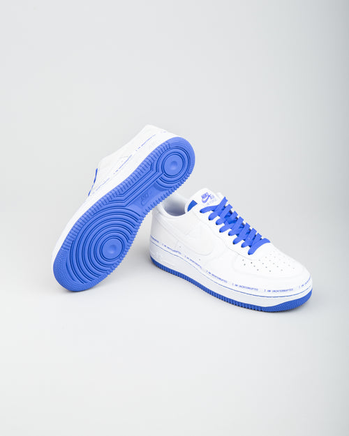 Air Force 1 '07 MTAA QS White/Black/Racer Blue 2