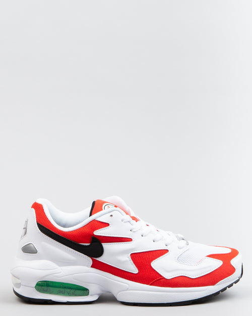 Air Max2 Light White/Black/Habanero Red 1