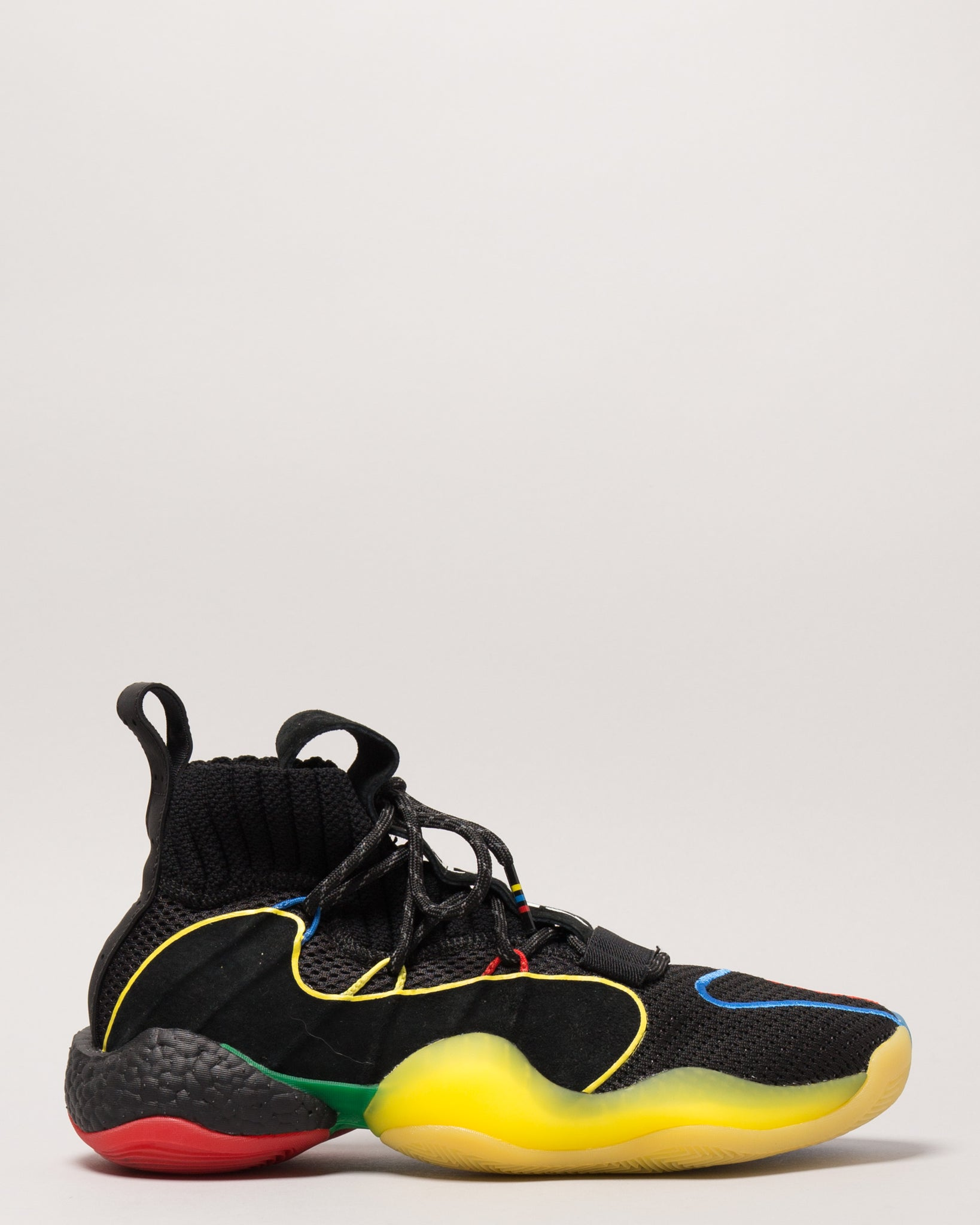 Pharrell Williams BYW LVL X Core Black/Green/Red/Bright Royal/Bright Yellow