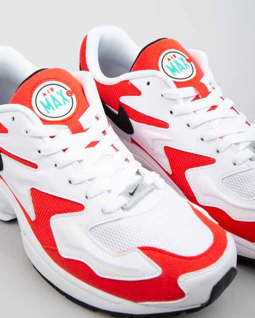 Air Max2 Light White/Black/Habanero Red 2