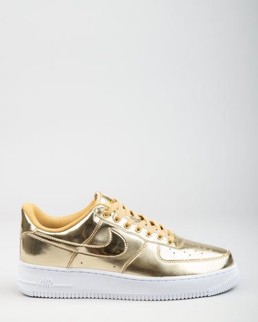 W Air Force 1 SP Metallic Gold/Club Gold/White 1