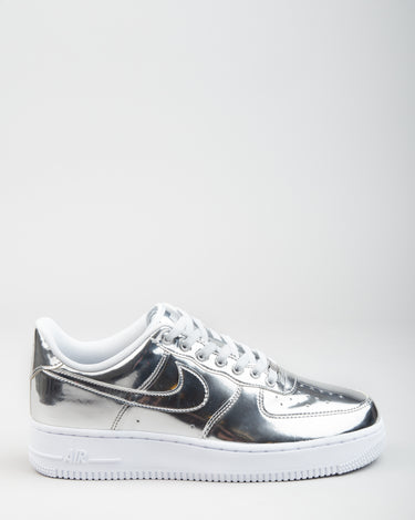 W Air Force 1 SP Chrome/Metallic Silver/White 1