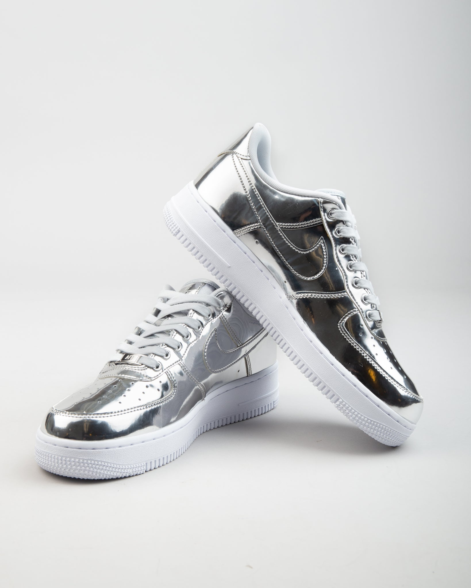 W Air Force 1 SP Chrome/Metallic Silver/White