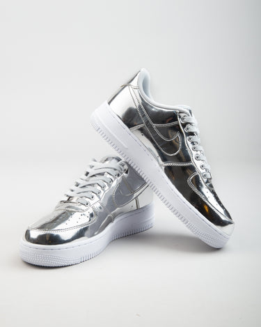 W Air Force 1 SP Chrome/Metallic Silver/White 2