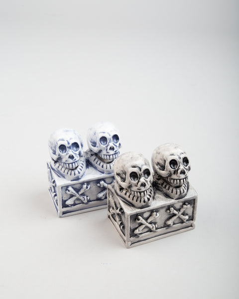Booze Dual Skull Incense Chamber