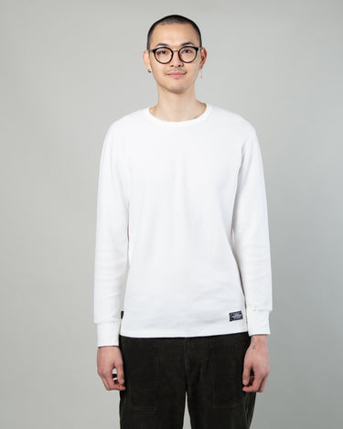 Thermal Waffle LS Tee White 1