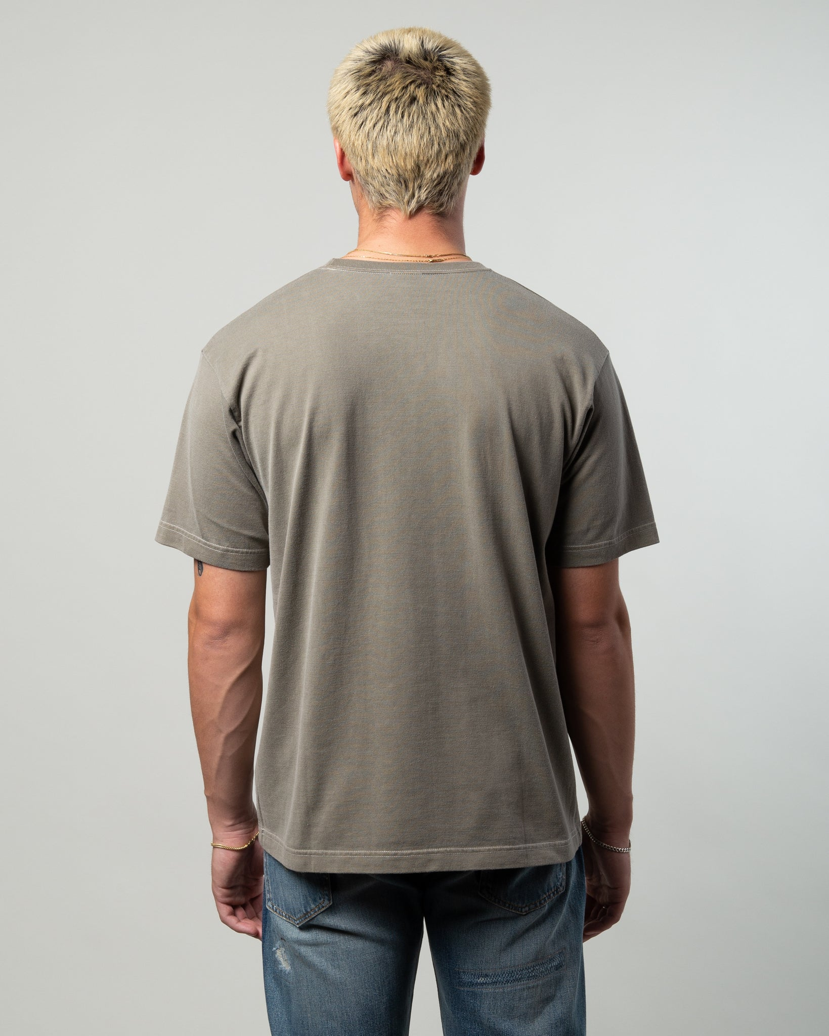 Blank SS 02 Tee Olive Drab