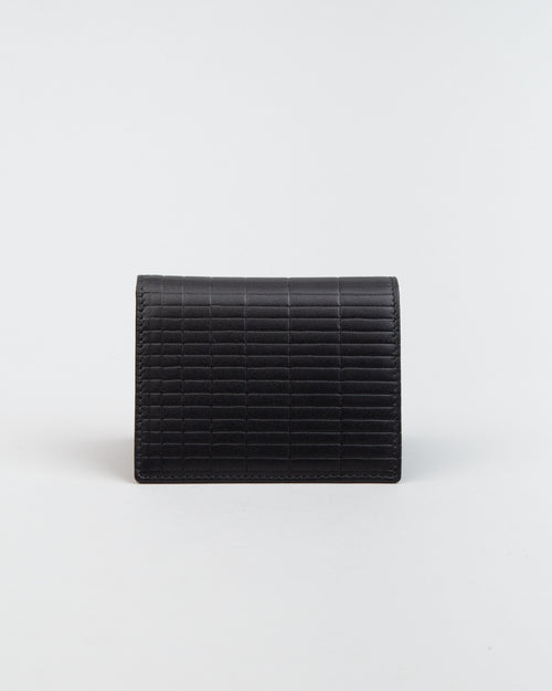 SA0641BK Brick Line Wallet Black 1